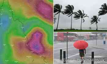 Australia's east coast is set to be hit with a major category THREE cyclone