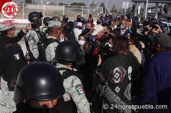 Ante falta de vacunas en CESSA Tlaxcalancingo; pide GN a adultos mayores retirarse - 24 Horas El Diario Sin Límites Puebla