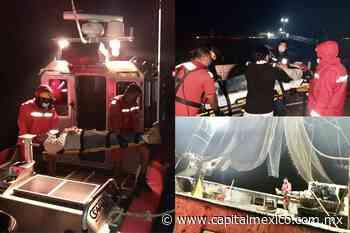 SEMAR realizó evacuación médica de un pescador en San Felipe, Baja California - Capital México