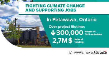 The Town of Petawawa is converting food waste into clean energy with support from the Government of Canada - Canada NewsWire
