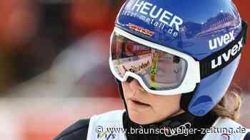 Skispringen: WM in Oberstdorffür Carina Vogt beendet