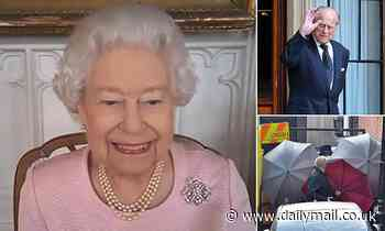 The Queen has cheery video call with Australian officials as Prince Philip moves hospital