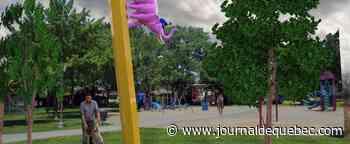 Art public: un crayon de sept mètres dans Maizerets