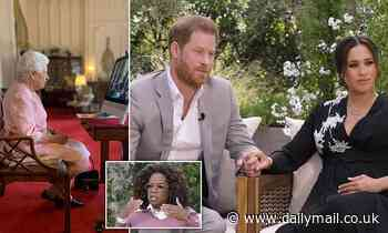 Palace is braced for Prince Harry bombshells: Oprah interview teasers add to fears