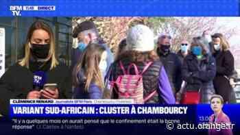Variant sud-africain à Chambourcy : la rentrée des classes reportée - 27/02 - Actu Orange