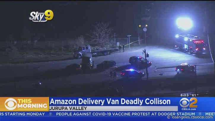 Amazon Prime Van Hits Riverside County Sheriff's Deputies; 2 Women Killed