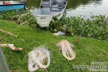 Polícia Ambiental multa cinco homens por pesca ilegal em Pederneiras - G1