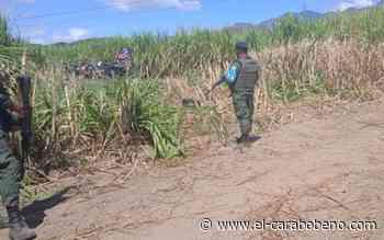 Reportado aterrizaje forzoso de avión Tucano entre Mariara y San Joaquín, tripulantes ilesos - El Carabobeño
