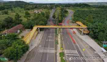 ANI entregó cinco puentes peatonales en Barrancabermeja y Betulia - Diario del Sur