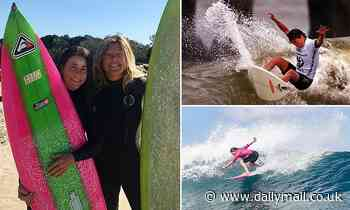 Forgotten world surfing champion overwhelmed after Aussies raise the prize money she never got