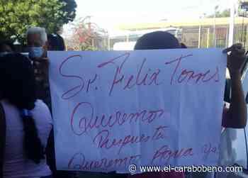 Habitantes de Mariara protestaron frente a Hidrocentro por falta de agua - el-carabobeno.com