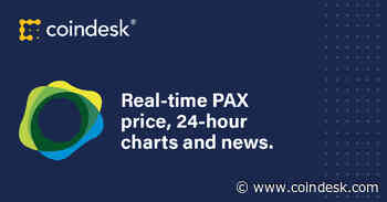 Paxos standard Price   PAX Price Index and Live Chart - Coindesk