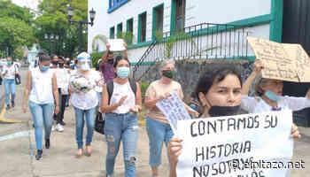 Portuguesa | Mujeres protestan en Guanare y Acarigua contra los femicidios - El Pitazo