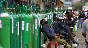 La Libertad: escasez de oxígeno en valle Chicama pone en riesgo a pacientes - LaRepública.pe
