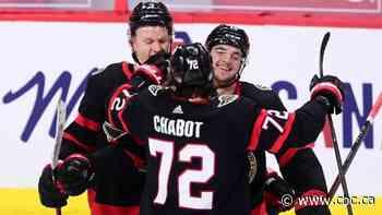 Drake Batherson extends goal streak as Senators roll past Flames