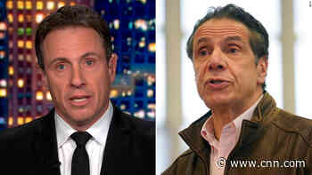 Chris Cuomo explains why he can't cover recent allegations about his brother