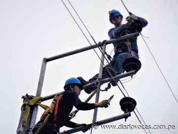 Electro Oriente realizó trabajos de seguridad eléctrica en San José de Sisa – San Martín - Diario Voces