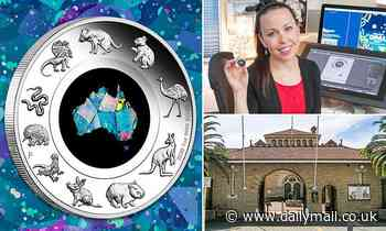 Rare $1 coin illustrated with intricate designs of Australian wildlife and authentic opal sold out