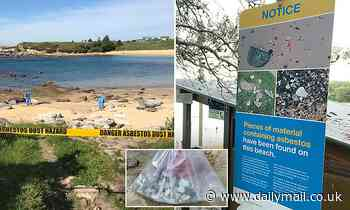 Picturesque beach in Sydney's east will be closed for two weeks as asbestos collected