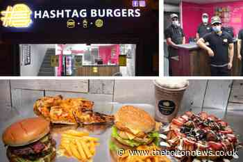 Inside new Bolton takeaway restaurant Hashtag Burgers