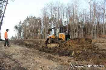 Erdarbeiten für Windpark Bretzfeld-Obersulm sind in vollem Gange - Heilbronner Stimme