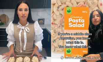 Woman sends TikTok into meltdown after claiming Woolworths pasta salad has an 'aftertaste'