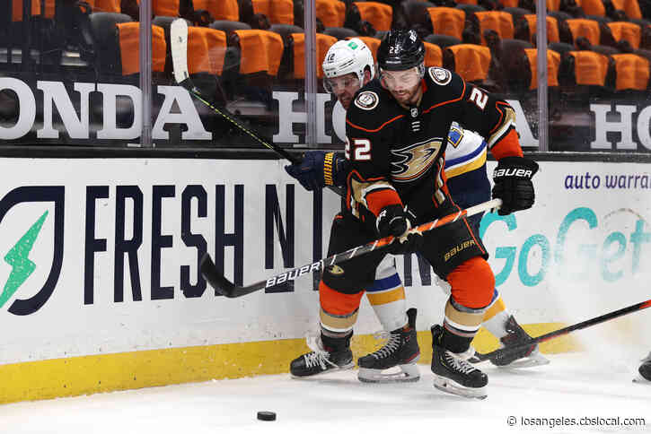 Zach Sanford Stars, Blues Hold Off Anaheim Ducks 5-4