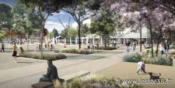 Villefontaine : création d'une place en centre-ville - Essor Isère