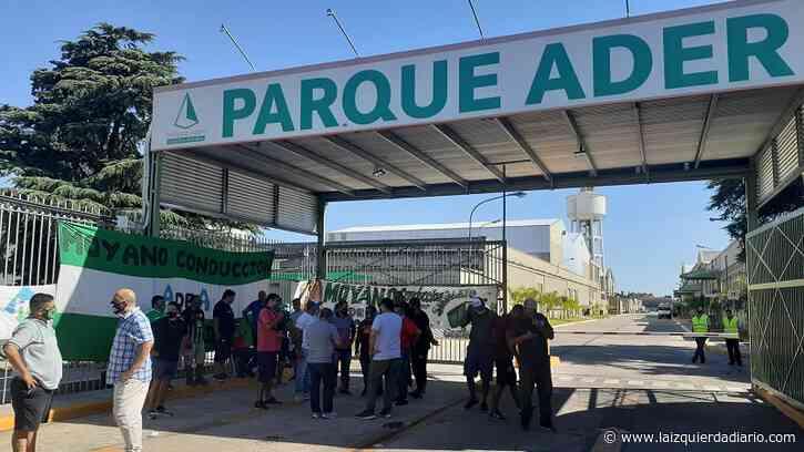 Conflicto por encuadramiento: Camioneros bloquea un parque industrial de Villa Adelina - La Izquierda Diario