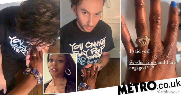 Azealia Banks 'dumps' fiance days after announcing engagement – and she's keeping the ring