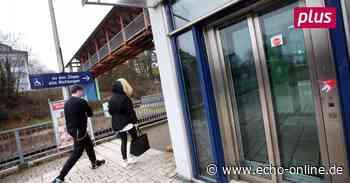 Aufzug am Bahnhof Ober-Ramstadt ist ständig kaputt - Echo Online