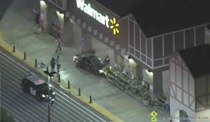 Suspect Runs Into Walmart At The End Of Pursuit Before Getting Arrested