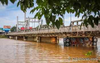 Após vazante, Rio Acre volta a se aproximar dos 13 metros na Capital - ac24horas.com