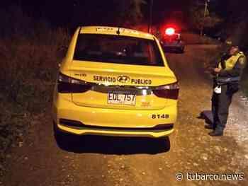 Asesinaron a conductor de taxi en la vía Montebello de Cali - TuBarco