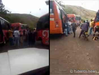 Siguen los enfrentamientos entre las empresas de transporte en la vía Montebello – Golondrinas - TuBarco