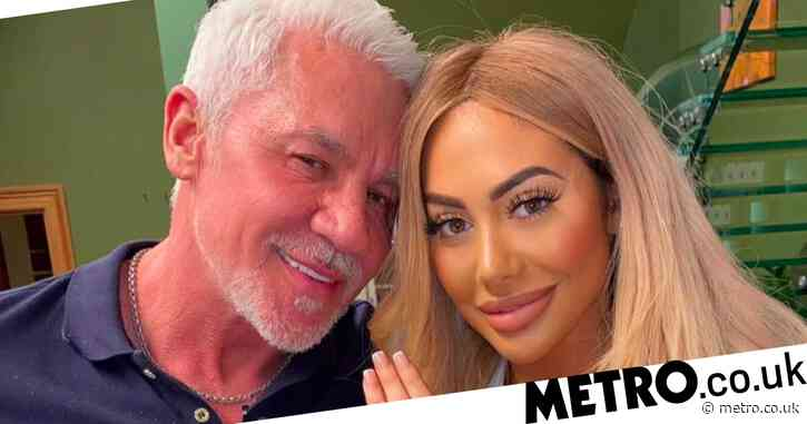 Chloe Ferry calls out 'vile abuse' sent to Celebs Go Dating's Wayne Lineker after engagement speculation
