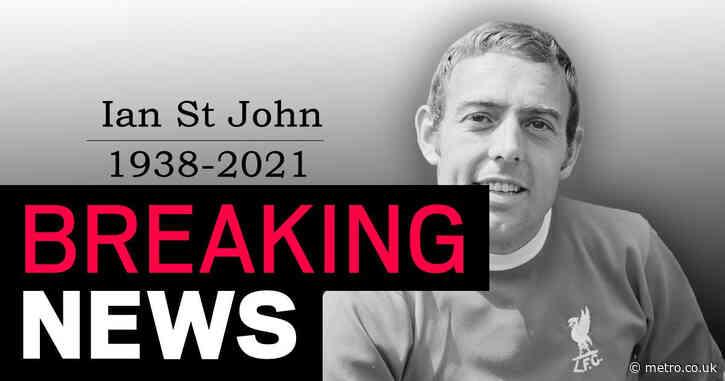 Liverpool legend Ian St John dies aged 82