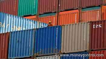 India#39;s exports dip 0.25% to $27.67 billion in February, trade deficit widens to $12.88 billion