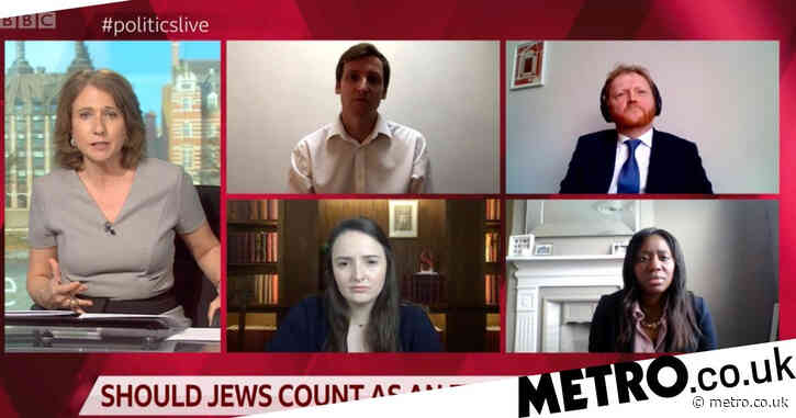 BBC's Politics Live asks four non-Jews if they agree Jewish people are an ethnic minority