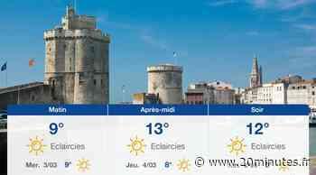 Météo La Rochelle: Prévisions du mardi 2 mars 2021 - 20minutes.fr