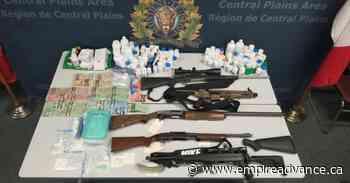 Portage la Prairie RCMP execute warrants, arrest eight - Virden Empire Advance