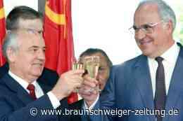 Gorbatschow: Im Ausland ein Held