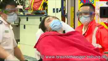 Hongkong: Verhörte Aktivisten kommen ins Krankenhaus