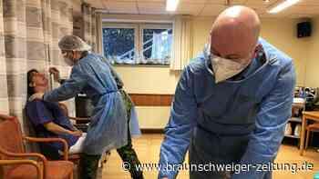 Soldaten helfen bei Schnelltests in Wolfenbütteler Heimen