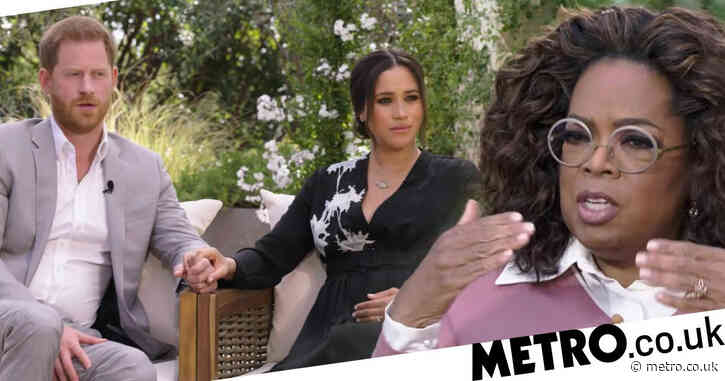 Harry and Meghan's Oprah interview will air on ITV after '£1,000,000 deal'