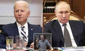 Joe Biden 'is preparing to impose sanctions on Russia'