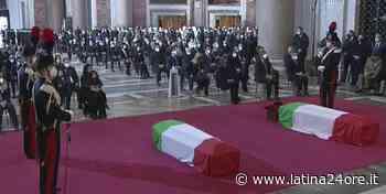 Funerali di Stato a Roma, poi salma di Iacovacci a Sonnino per camera ardente al cimitero - Latina24ore.it