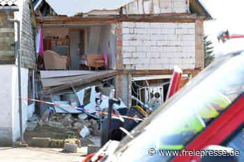 Mulda: Giebel von Wohnhaus eingestürzt - Freie Presse