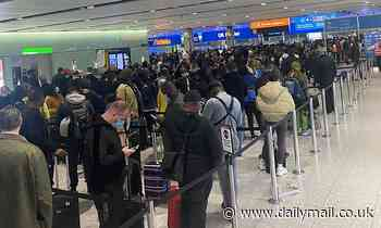 Heathrow chaos continues as passengers face three hour queues