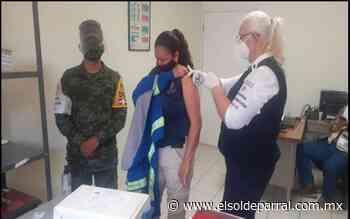 Recibe personal de hospitales de Camargo y Delicias, segunda dosis anticovid - El Sol de Parral